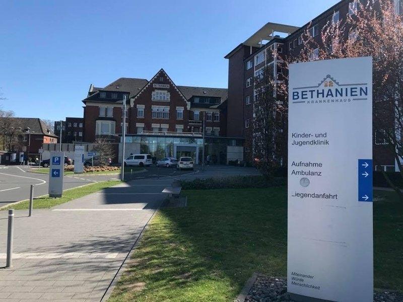Gelockerte Besuchsregeln im Krankenhaus Bethanien