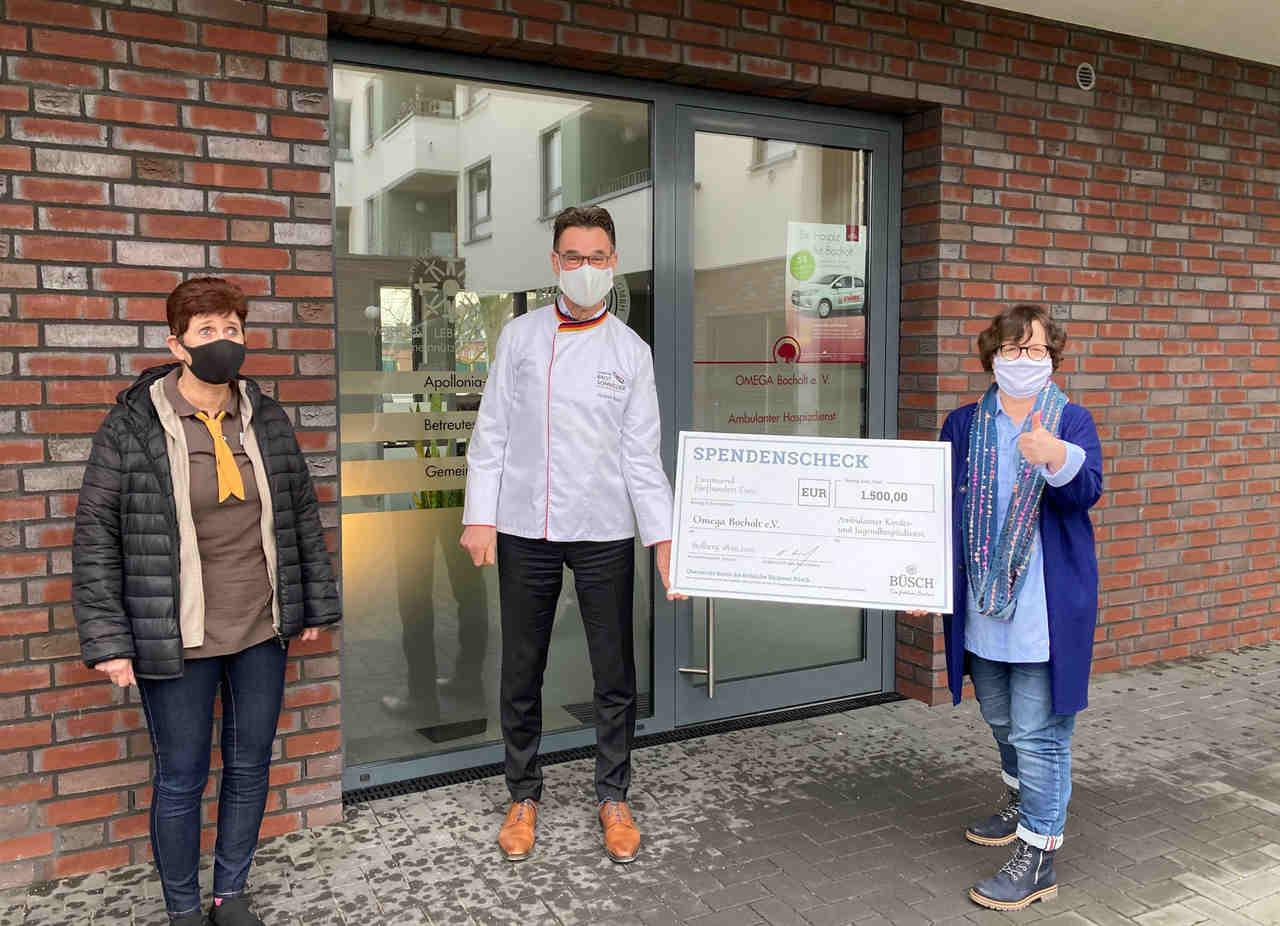 1.500 Euro für Ambulanten Kinder- und Jugend-Hospizdienst: