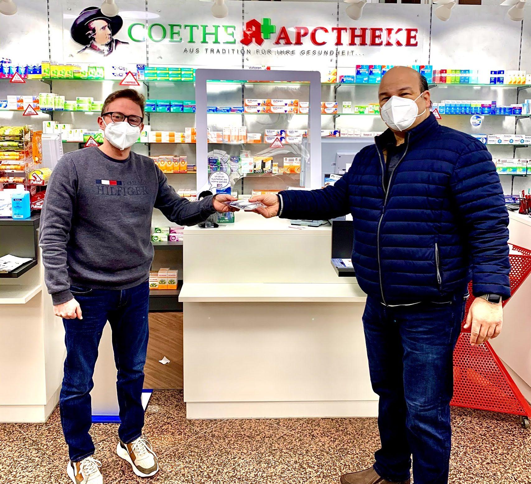 Kostenlose, bzw. Bezuschusste 12 FFP2-Masken in den Apotheken