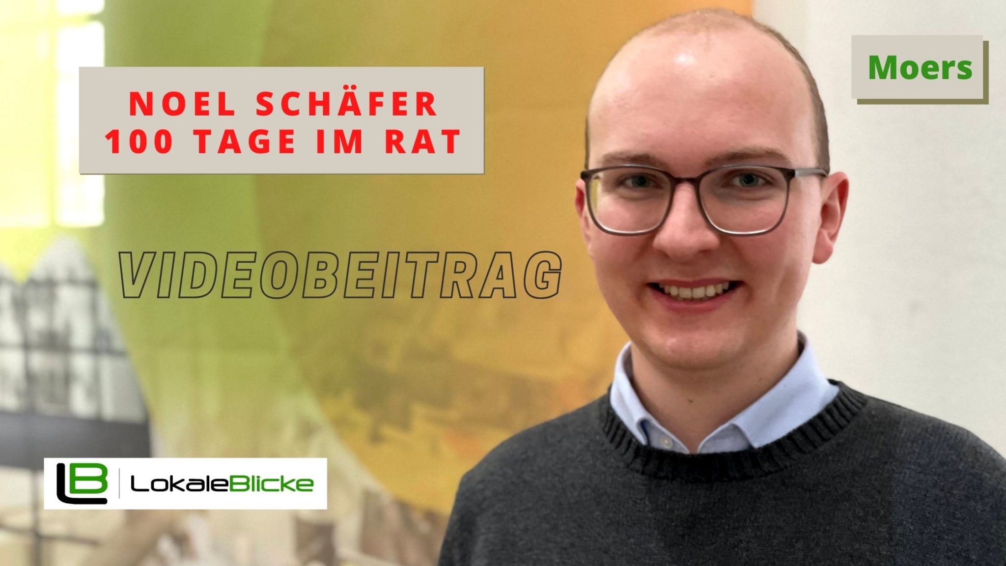 Interview mit dem jüngsten Moerser Ratsmitglied Noel Schäfer
