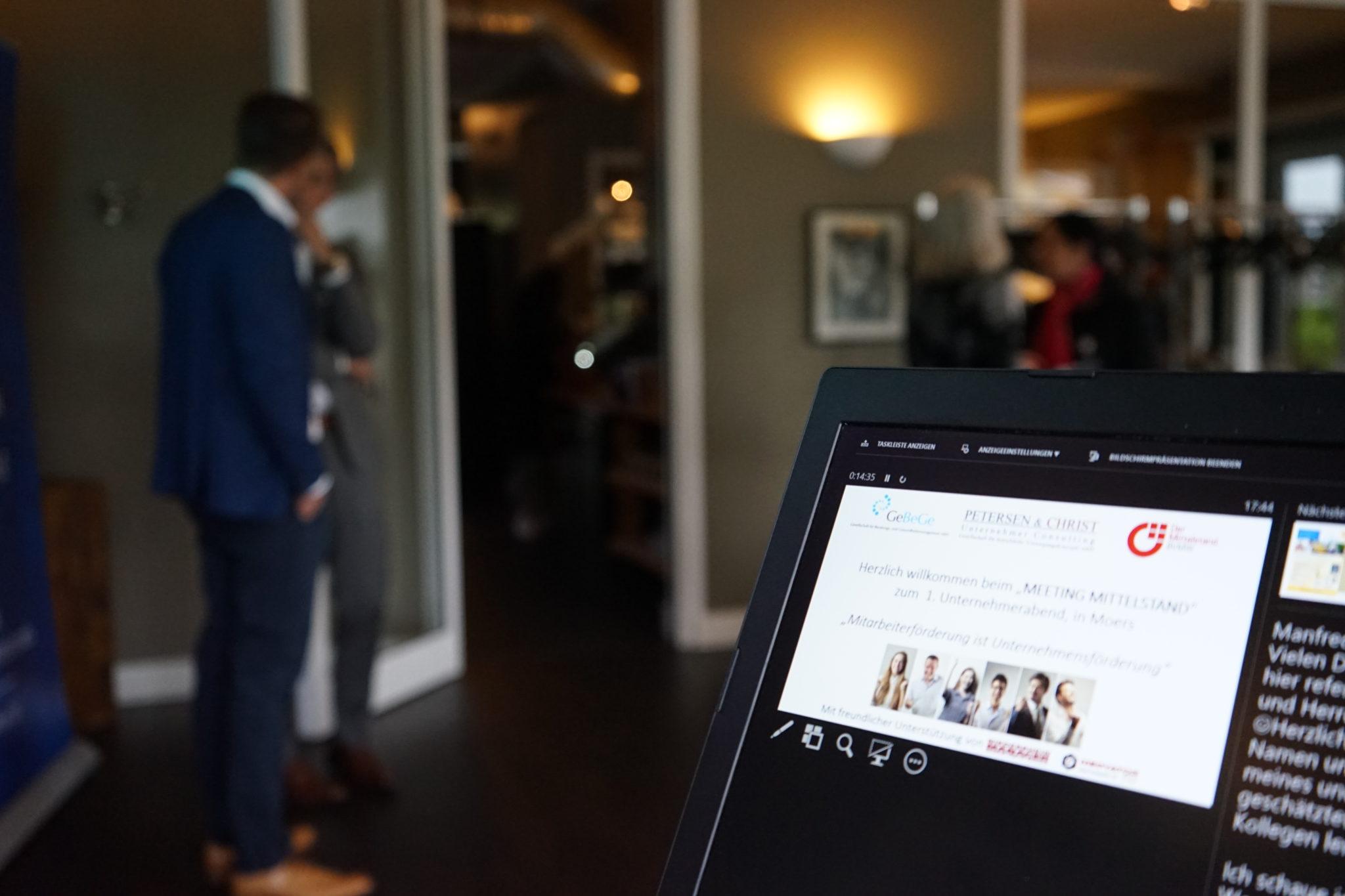 BVWM Online Meeting für Unternehmer und Geschäftsführer