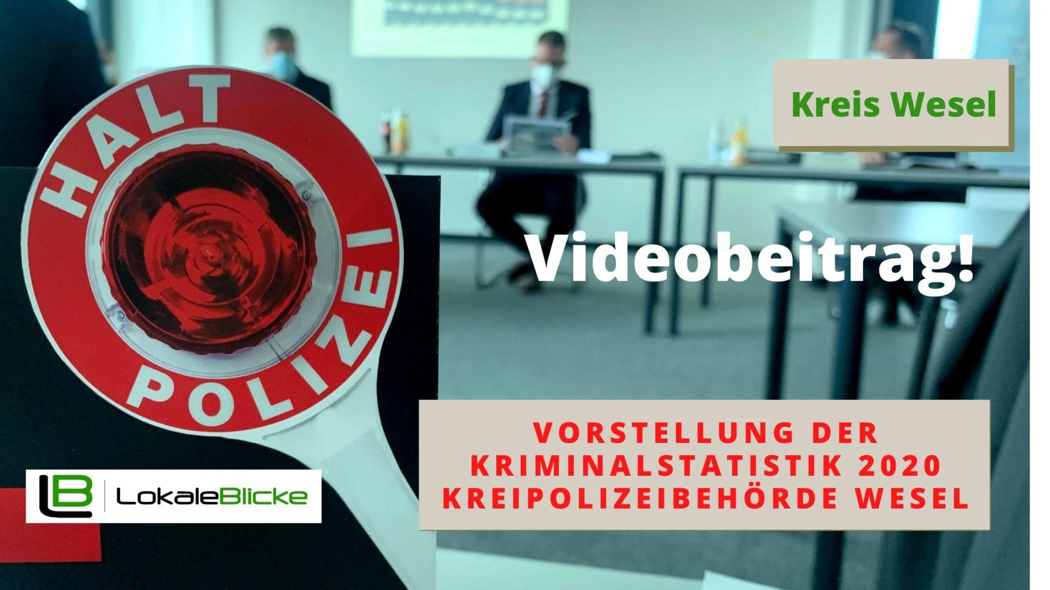 Vorstellung der Kriminalstatistik 2020