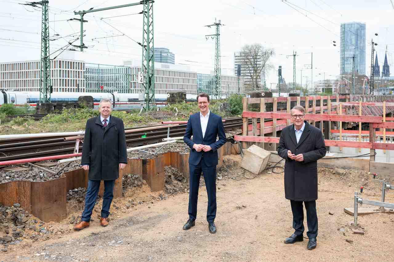 Robustes Netz für Nordrhein-Westfalen: Auftakt in Köln-Deutz