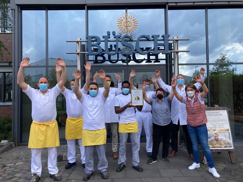 Handwerksbäckerei Büsch wird erneut ausgezeichnet: