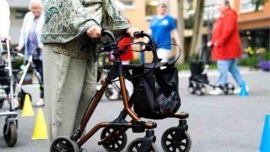 Sicher unterwegs - mit Rollstuhl und Rollator