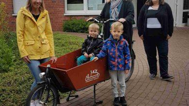 Rheinberg - Borth hat jetzt ein Lasten-Fahrrad