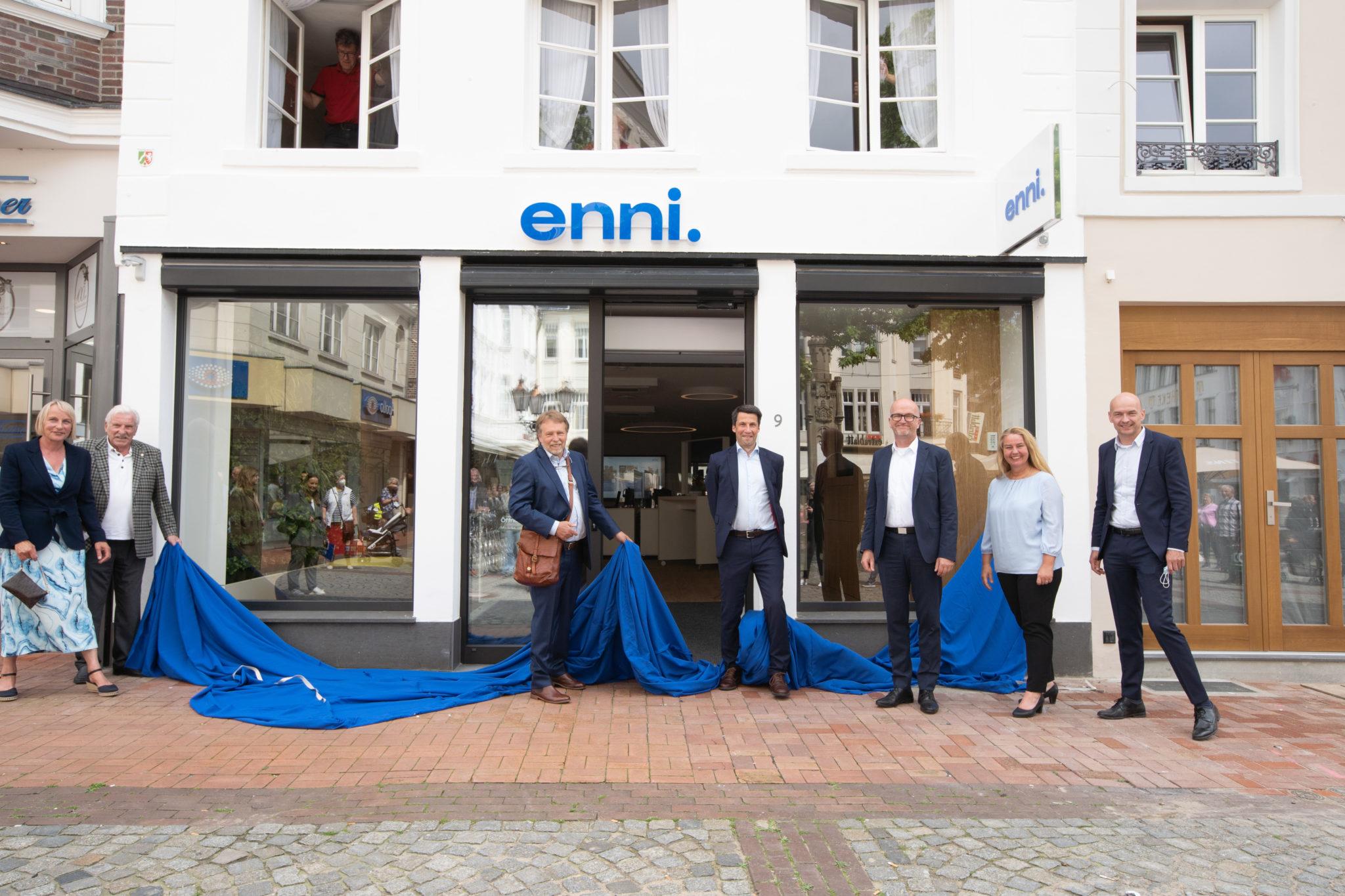 Mit dem neuem Kundenzentrum in der Innenstadt beginnt auch für die Marke Enni ein neues Zeitalter
