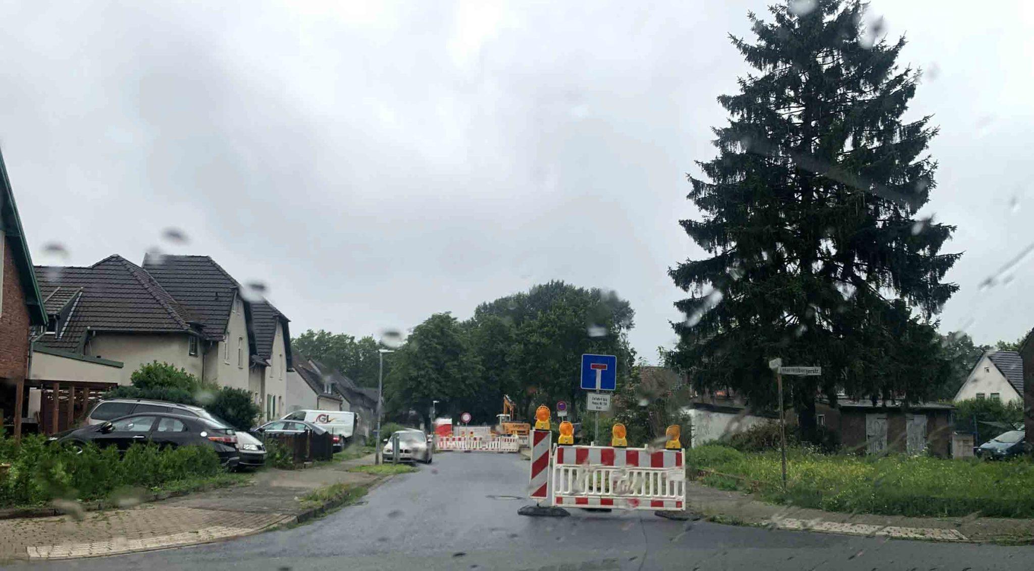 Enni erneuert Schmutzwasserkanal in Moers-Meerbeck